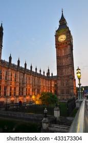 Big Ben, London, England, UK