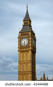 Big Ben in London at evening, UK