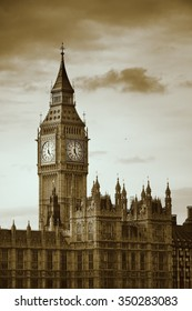 Big Ben of London as the famous landmark and icon of the city.