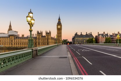 Big Ben in London in the morning