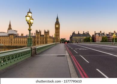 Big Ben in London in the morning, UK