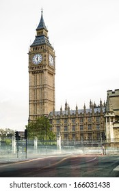 Big Ben London. Palace of Westminster