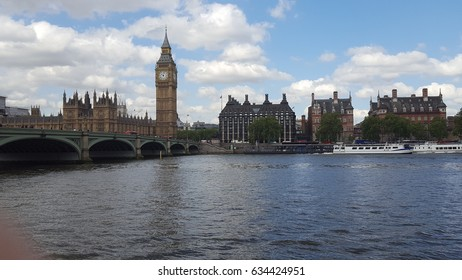 Big Ben, London Uk Landscape