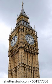 Big Ben, the most popular and iconic landmark in England. Designed by Augustus Pugin in a Neo-Gothic style in the early 19th Century