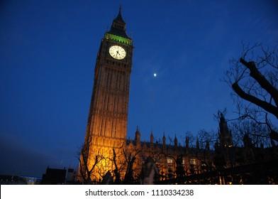 Big ben at night (London)