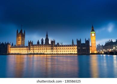 Big Ben and Palace of Westminster London England UK