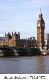 Big Ben, Parliament and Westminster Bridge