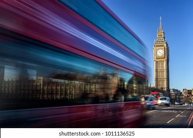 Big Ben in a sunny morning, London, United Kingdom