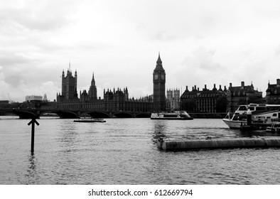 Big Ben in Westminster, London, UK