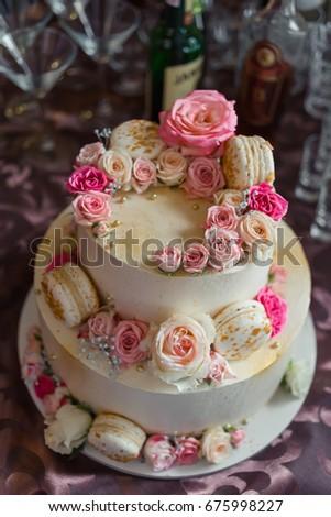 Big Birthday Cake Stock Photo Edit Now 675998227