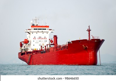 The Big boat of oil tanker