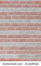 Big brick wall texture background exterior