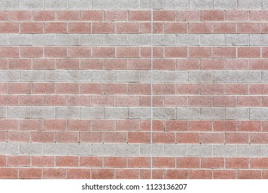 Big brick wall texture background exterior