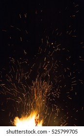 big bright bonfire