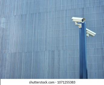 Big brother NSA surveillance wallpaper concept, CCTV closed circuit camera of surveillance