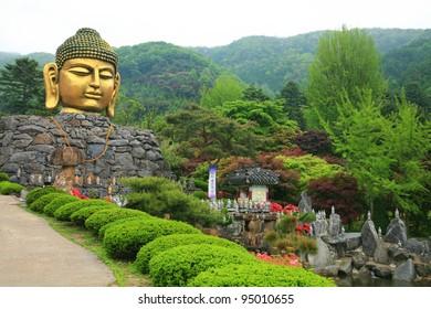 Big Buddah Head in Korea