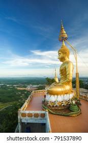 Big Buddha Image on the high mountain