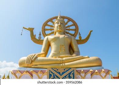 big Buddha at Samui island in Thailand