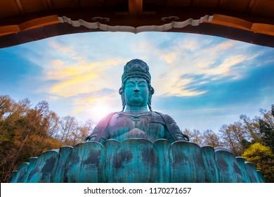 The Big Buddha - Showa Daibutsu in Aomori, Japan