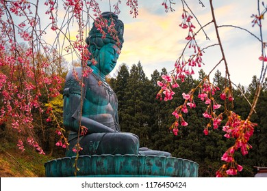The Big Buddha - Showa Daibutsu at Seiryuji Temple in Aomori, Japan