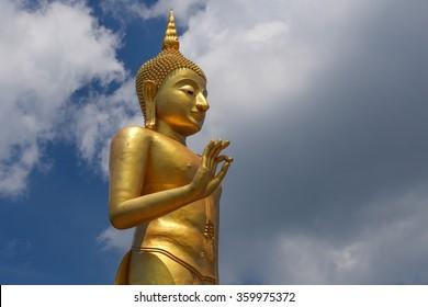 Big Buddha statue at Hat-Yai, Thailand
