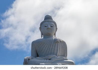 Big Buddha statue in Phuket, Thailand