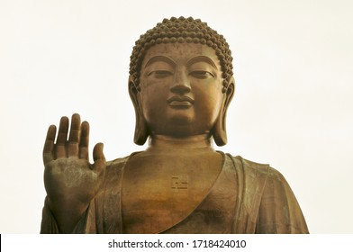 Big Buddha Statue, Po Lin Monastery, Lantau Island, Hong Kong