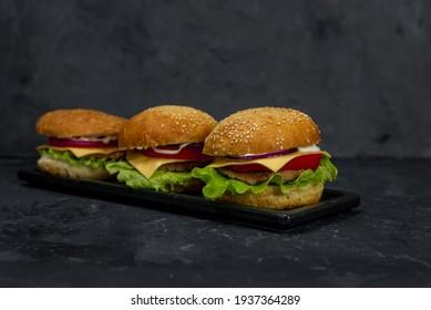 Big burger, american fast food