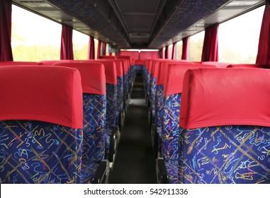 Big bus interior