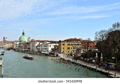 The big canal of Venice, Italy