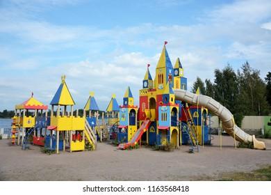 Big children playground