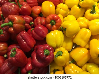 Big chili red and yellow.
