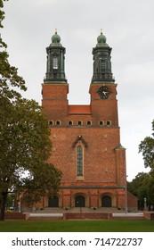 Big church in Eskilstuna town, Sweden
