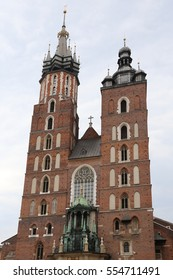 Big Church of Our Lady Assumed into Heaven in Krakow Poland