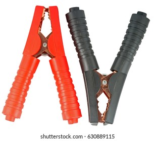A big clamps on a white background