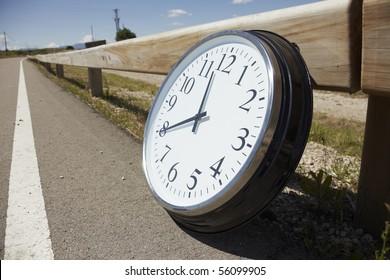 Big clock outdoors