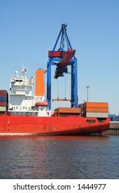 big container crane