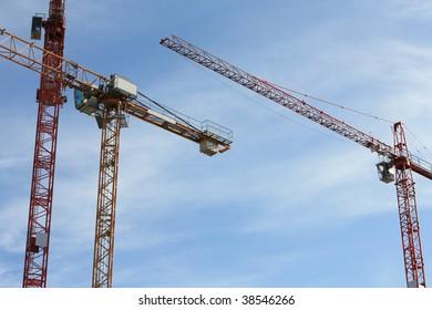 big cranes