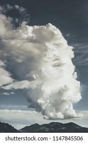 big cumulonimbus cloud