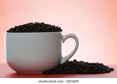 big cup of beans