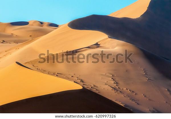Big Daddy Dune Sossusvlei Namibia Stock Photo Edit Now
