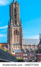 The big Eusebius curch in the dutch city of Arnhem