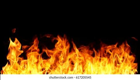 A big flame