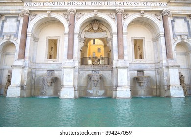 The big fountain, Rome, Italy