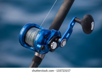 big game fishing, reels and rods