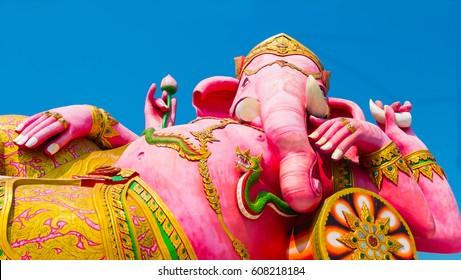 Big Ganesha with blue sky, Ganesha: Lord of Success