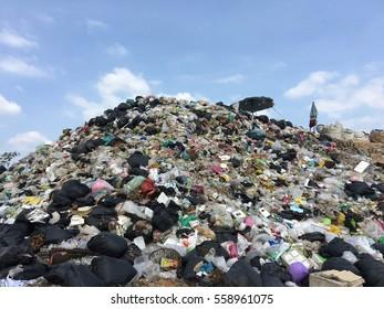 big  garbage mountain