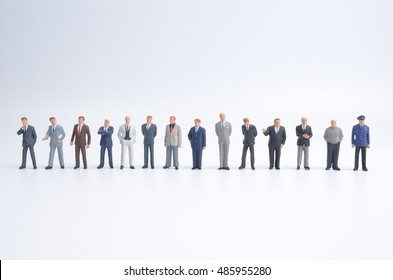 the big group of the small business figure