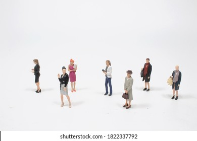 a big group of the small business women figure