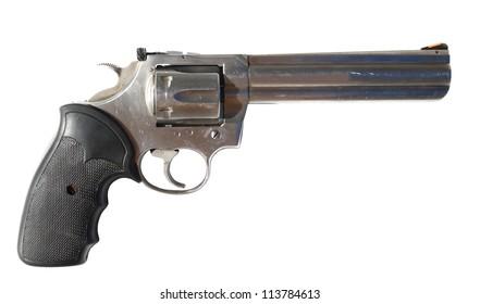 Big gun isolated on white